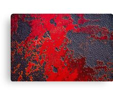 Red raw Canvas Print