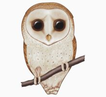 Big-Eyed Barn Owl Kids Clothes