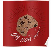 Om Nom Nom! Cookie Poster