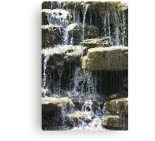 Rocky Waters Canvas Print
