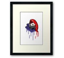 The Vandal Framed Print