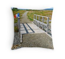 Belliveau Cove Board Walk Throw Pillow