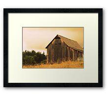Johnson Farm Framed Print