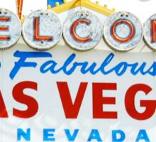 Welcome to fabulous Las Vegas | T-shirt  Sticker