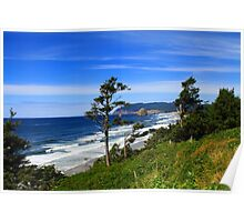 View from the Oregon Coast Poster