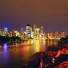 Brisbane city lights by thatkellychic