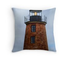 Three Windows Over the Sea Throw Pillow