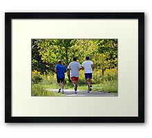 Road Warriors Framed Print