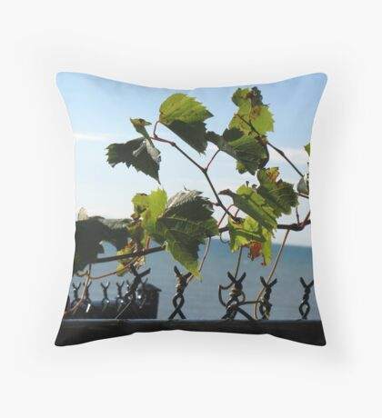 Tendril Moments Throw Pillow
