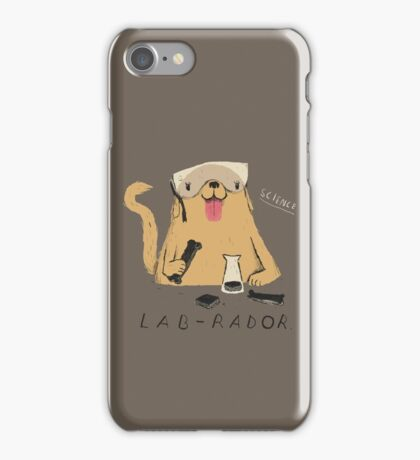 lab-rador iPhone Case/Skin