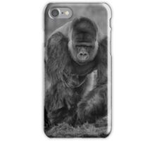 Silverback Taking A Stroll iPhone Case/Skin