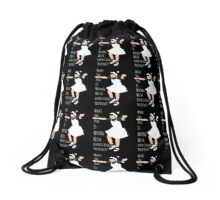 Express yourself Drawstring Bag