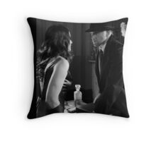 The Last Confrontation  Throw Pillow