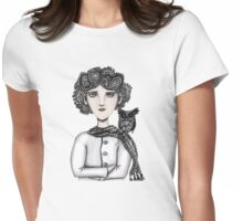 Chemo curls Womens Fitted T-Shirt