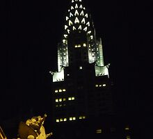 Grand Central Station and The Chrysler Building by MischaC