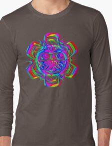Mayan PsyArt Long Sleeve T-Shirt