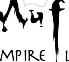 Muffy the Vampire Layer Sticker