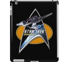 StarTrek Enterprise 1701 A  Command Signia Chest iPad Case/Skin
