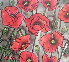 Poppies XII by Alexandra Felgate