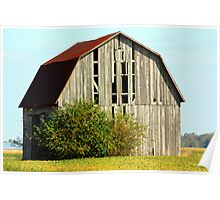 Old Rustic Barn Poster