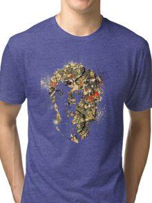 Ian Splatter Tri-blend T-Shirt