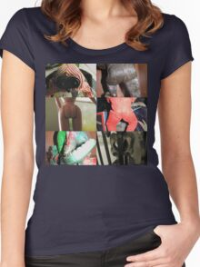 It's Ass Day! Women's Fitted Scoop T-Shirt