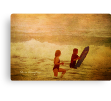 Before Canvas Print