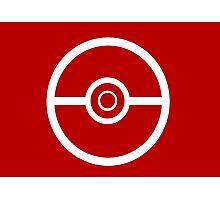 Pokemon Pokeball 3 Photographic Print