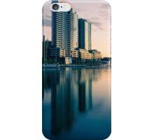 Melbourne Docklands Sunset 2 iPhone Case/Skin