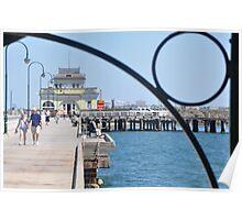 Birdseye Pier Poster