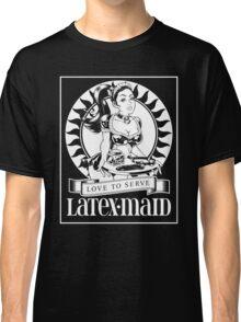 Latex Maid - White Classic T-Shirt