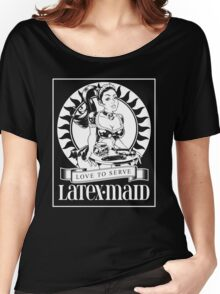 Latex Maid - White Women's Relaxed Fit T-Shirt