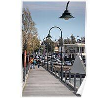Williamstown boardwalk Poster