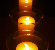 Relay For Life Candles by Natasha Hurst