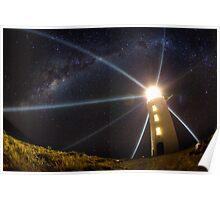 Bruny Island Light, Tasmania Poster