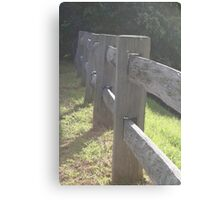 la fence Canvas Print