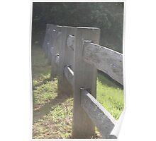 la fence Poster