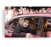 Drag in a Jag Canvas Print