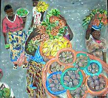 Market day by Teresa Dominici
