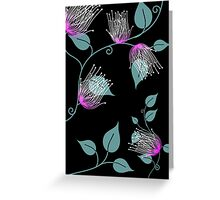 Digital painting Lilly flower Greeting Card