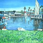 Oceanside Harbor, California by Teresa Dominici