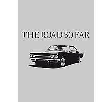 The road so far Photographic Print