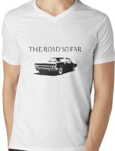 The road so far Mens V-Neck T-Shirt