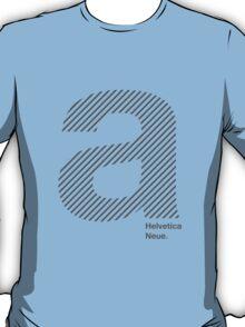 Helvetica A  T-Shirt