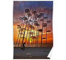 Waterproof sunset Poster