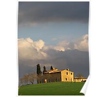 Tuscany -  Farmhouse in the sun Poster