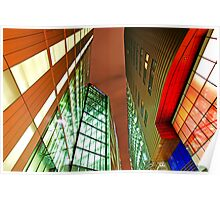 Colors of Modern Architecture - More London Place Poster