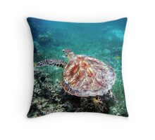 Under the sea with me... Throw Pillow