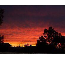 Mackenna's Sunset Photographic Print