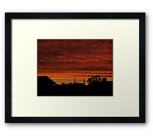 Mackenna's Sunset no.2 Framed Print